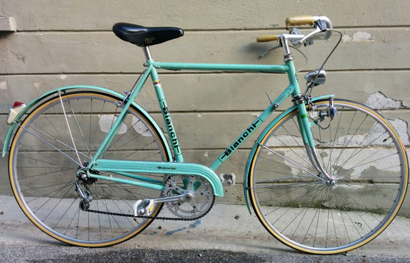 Bianchi Da Uomo Vintage Elpirata Bike Padova Negozio Di Bici