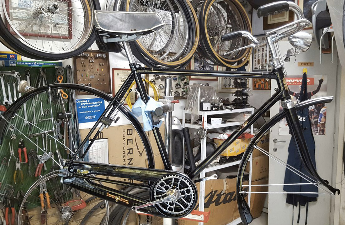 Bici bianchi 1978 elpirata bike padova negozio di bici for Restauro conservativo